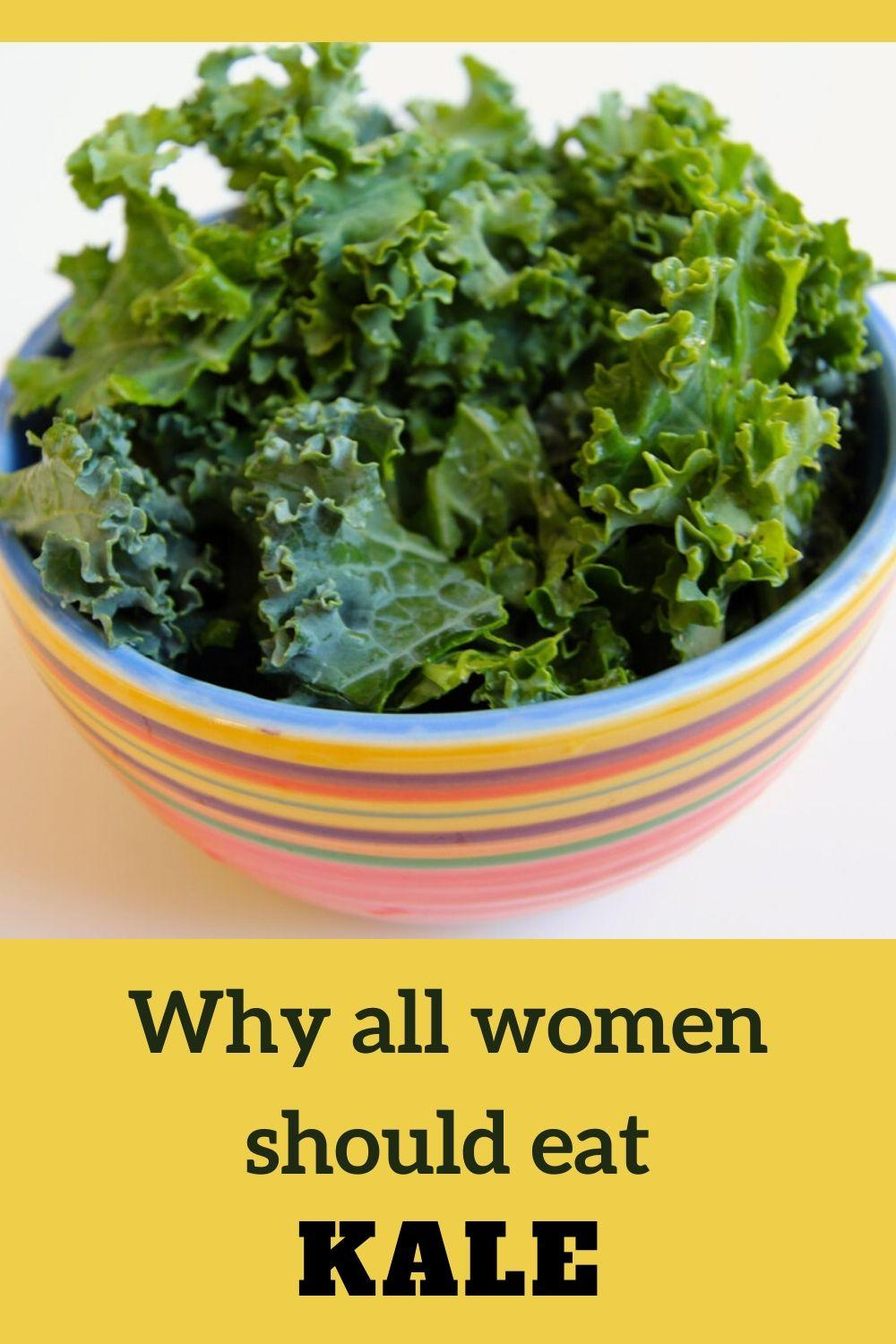 the benefits of kale for women's health
