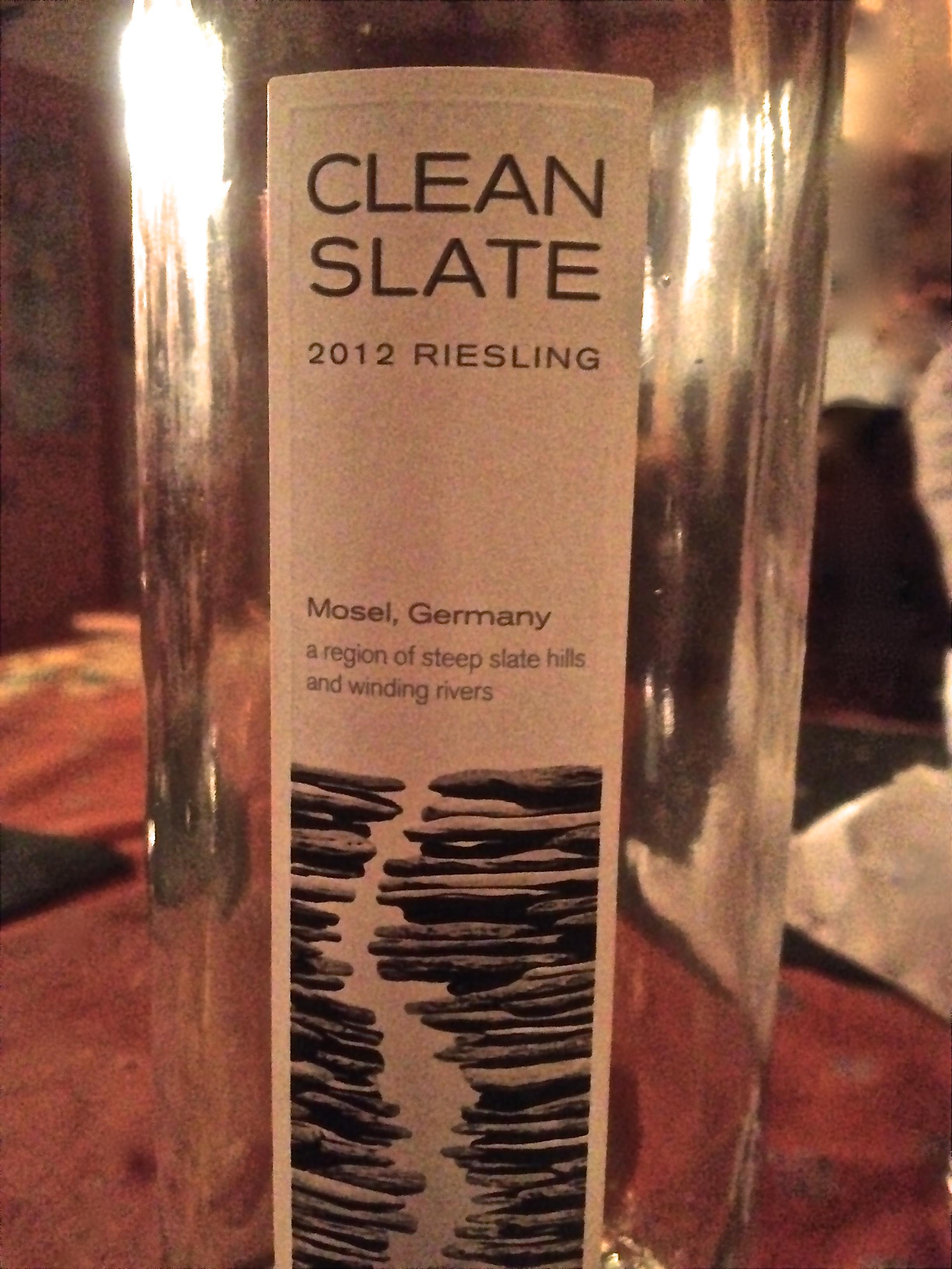 Clean Slate Riesling, Mosel, Germany 2