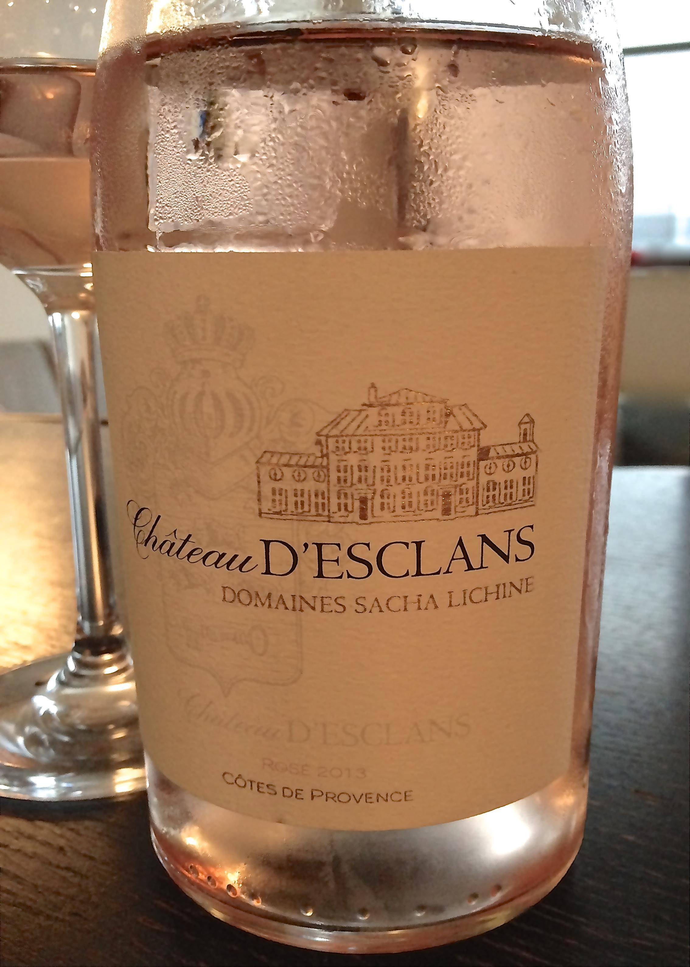Chateau d'Esclans Rosé, Domaines Sacha Lichine 1