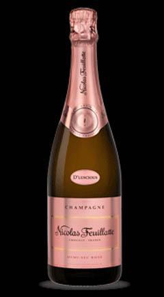 Nicholas Feuillatte D'Luscious Rose Champagne