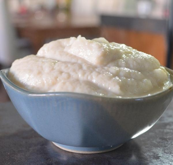 roasted cauliflower puree