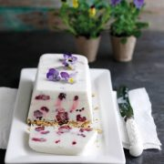 Blackberry and Coconut Parfait - an easy and elegant dessert that can be made in advance