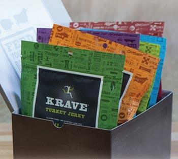 krave jerky for the wine lover