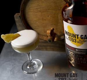 mount gay rum cocktail