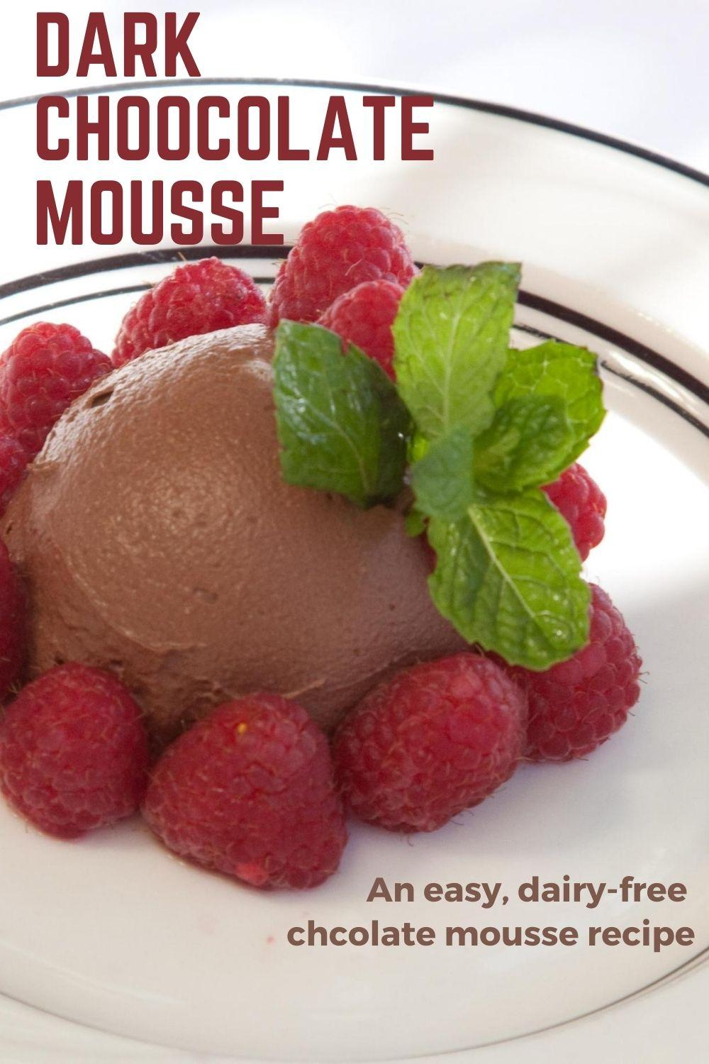Dark Chocolate Mousse graphic
