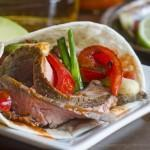 Ingrid Hoffman's Steak Fajitas