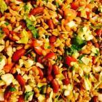Barley and Bean Salad - a spicy, sexy spin on beans and rice 2