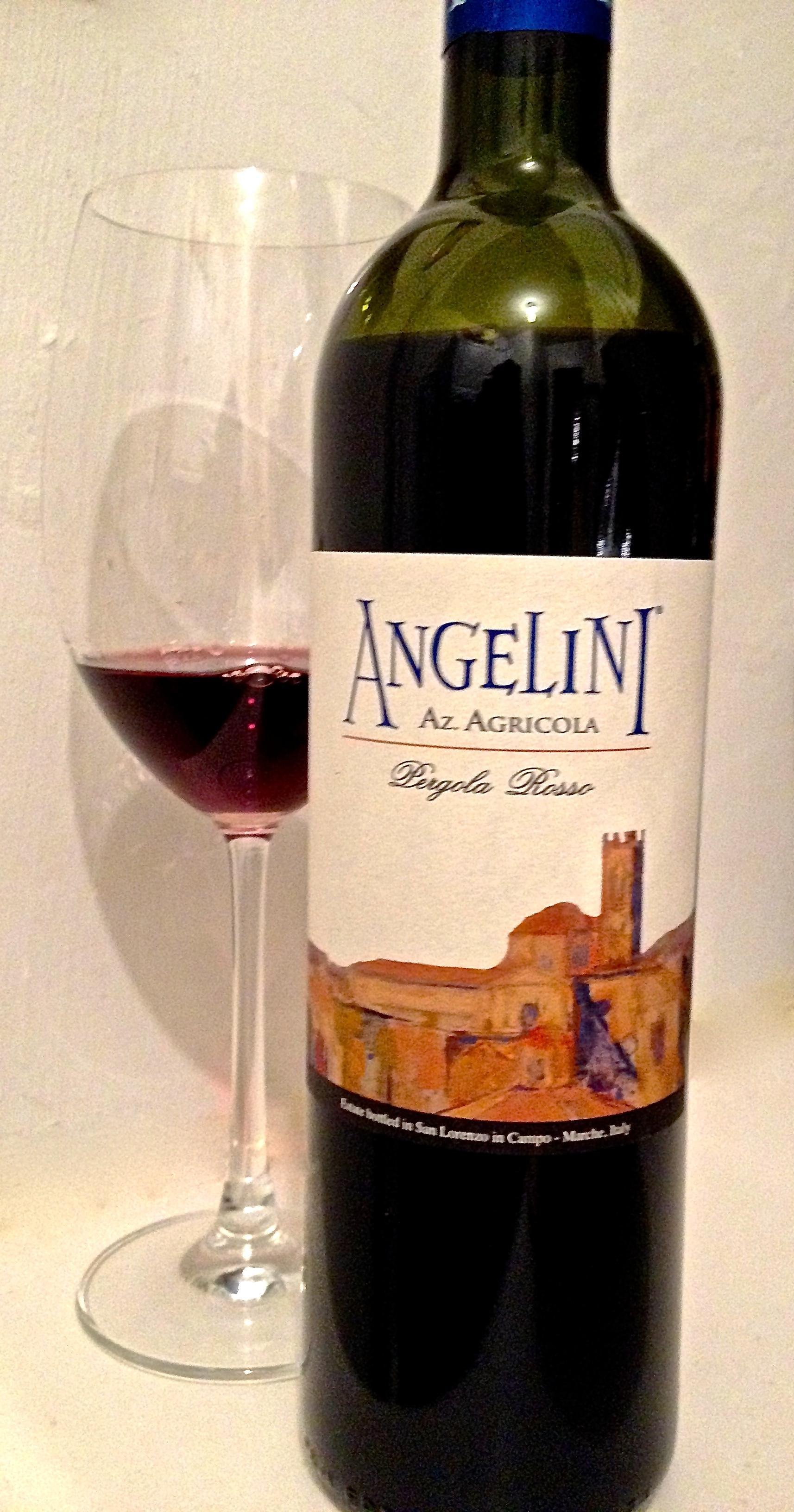 Interesting Wines of Italy: 2012 Angelini Pergola Rosso 1