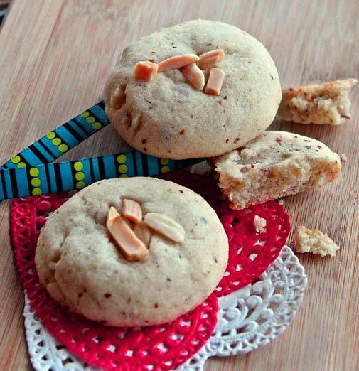 Almond and Cardamom Cookies (Nankhatai)