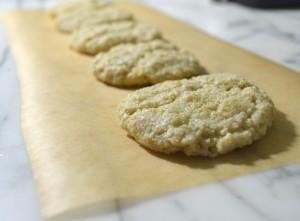 gluten-free cashew cookies