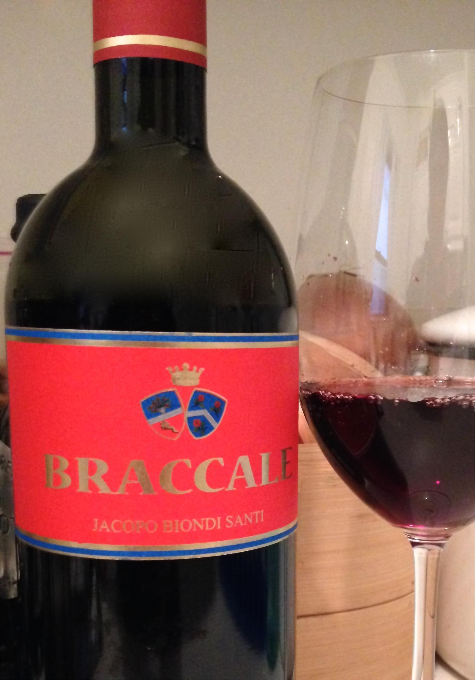 2011 Jacopo Biondi Santi Braccale Rosso 3