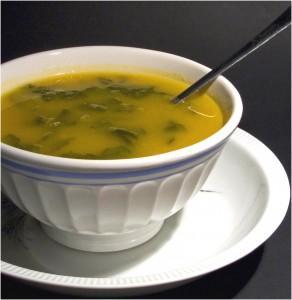 vegetarian coconut soup