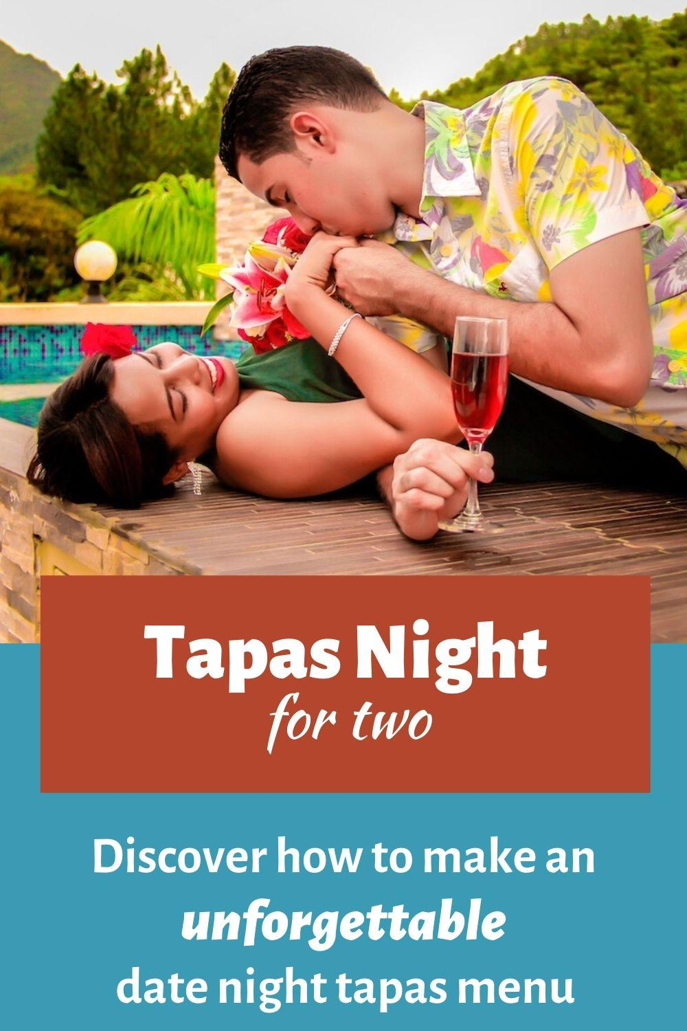 Date Night Tapas Menu for Two