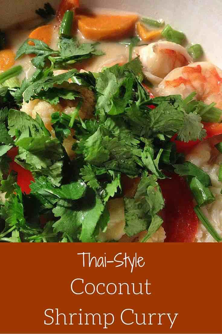 coconut shrimp thai-style curry
