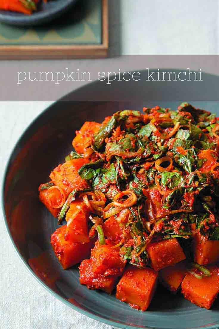 Pumpkin Spice Kimchi recipe