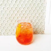 The Aperol Spritz, a simple Prosecco Cocktail
