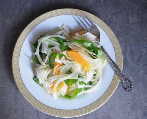 fennel and tangerine salad
