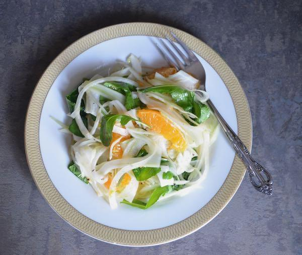 fennel and tangerine salad