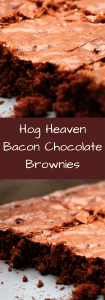 Hog Heaven Bacon Brownies Recipe--for the indulgent 2