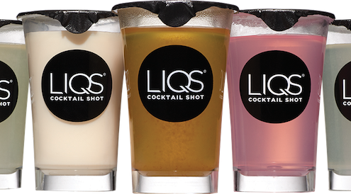 LIQS Cocktail Shots for Easy Entertaining | EatSomethingSexy.com