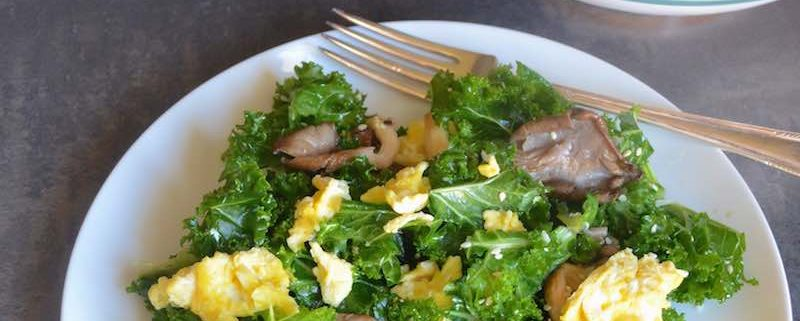 Citrus Massaged Kale Salad Recipe