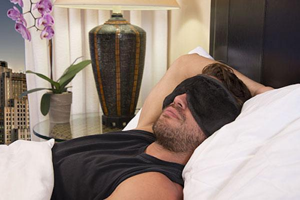 Get a better night's sleep with the Total Sleep Mask System