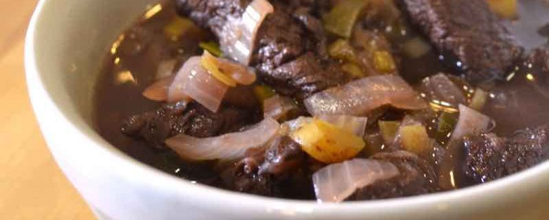 Bison Bourguignon--an easy weeknight stew recipe