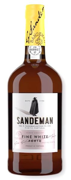 Sandeman White Port Bottle Shot