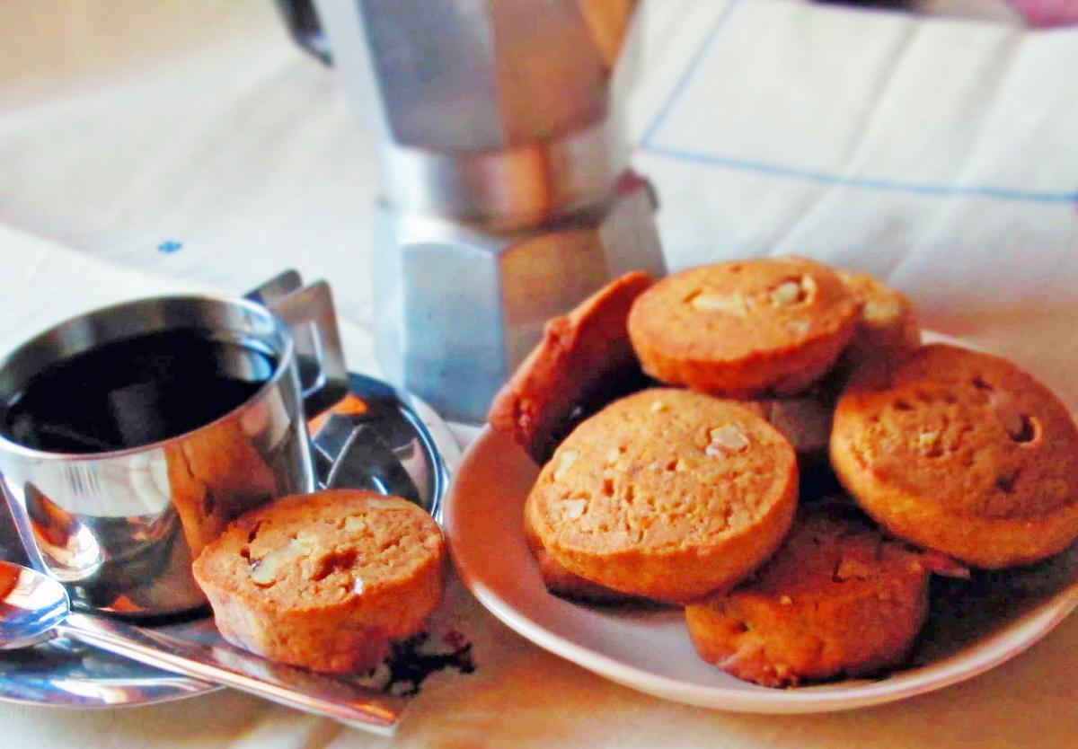 Biscottini di Caffe (little espresso cookies)