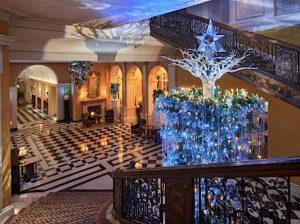 Karl Lagerfeld Christmas Tree at Claridge's
