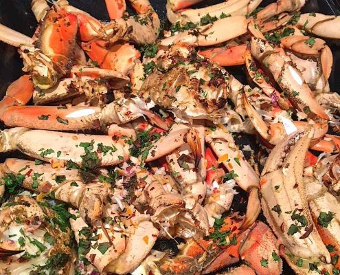 Easy Oven Roasted Dungeness Crab