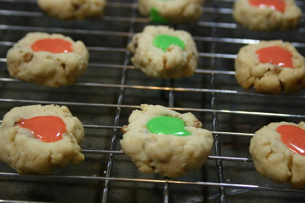 Ronie's Walnut Icing Cookies--a Christmas classic
