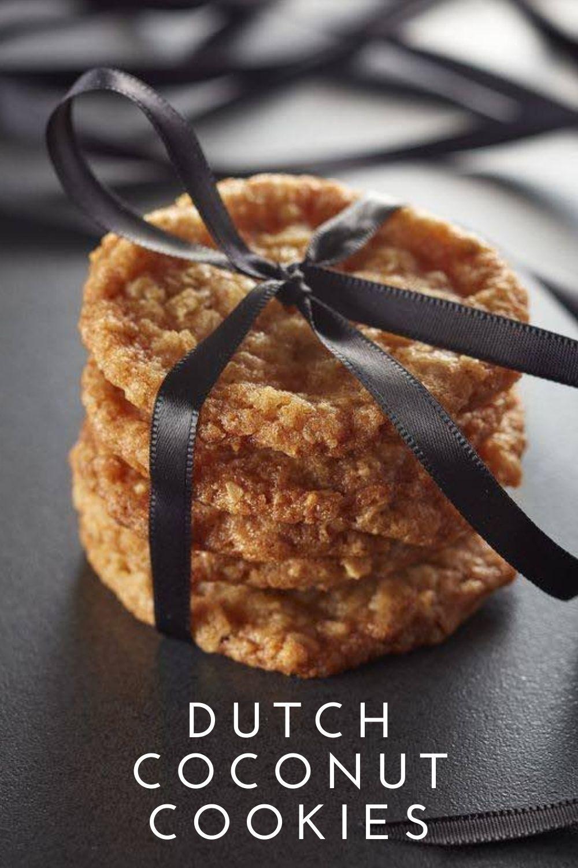 Dutch Coconut Cookies Graphic