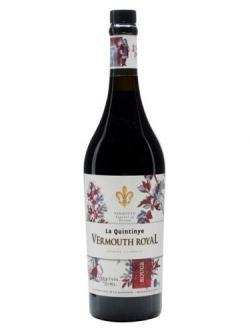 bottle shot of NV La Quintinye Vermouth Royal Rouge
