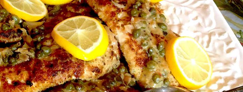 Allie Ketcham's Chicken Paillard--a tribute to Bistro Ralph