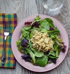 Curried Tuna Salad with Golden Figs