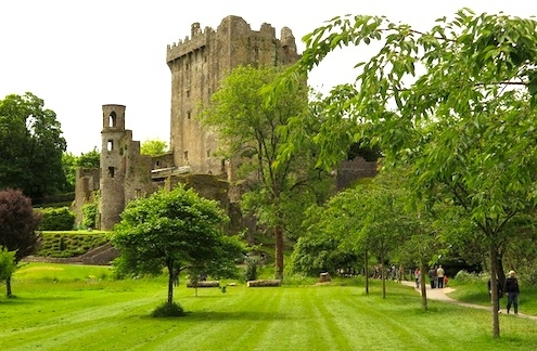 Landscape with Blarney Castle