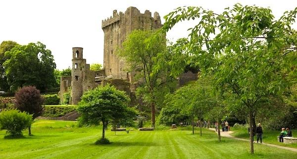 Landscape with Blarney Castle