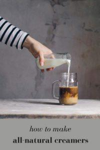 Make Your Own All-Natural Flavored Creamers at Home