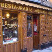 Sobrino de Botín, the world's oldest restaurant