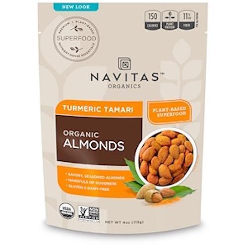 Navitas Organic Turmeric and Tamari Almonds
