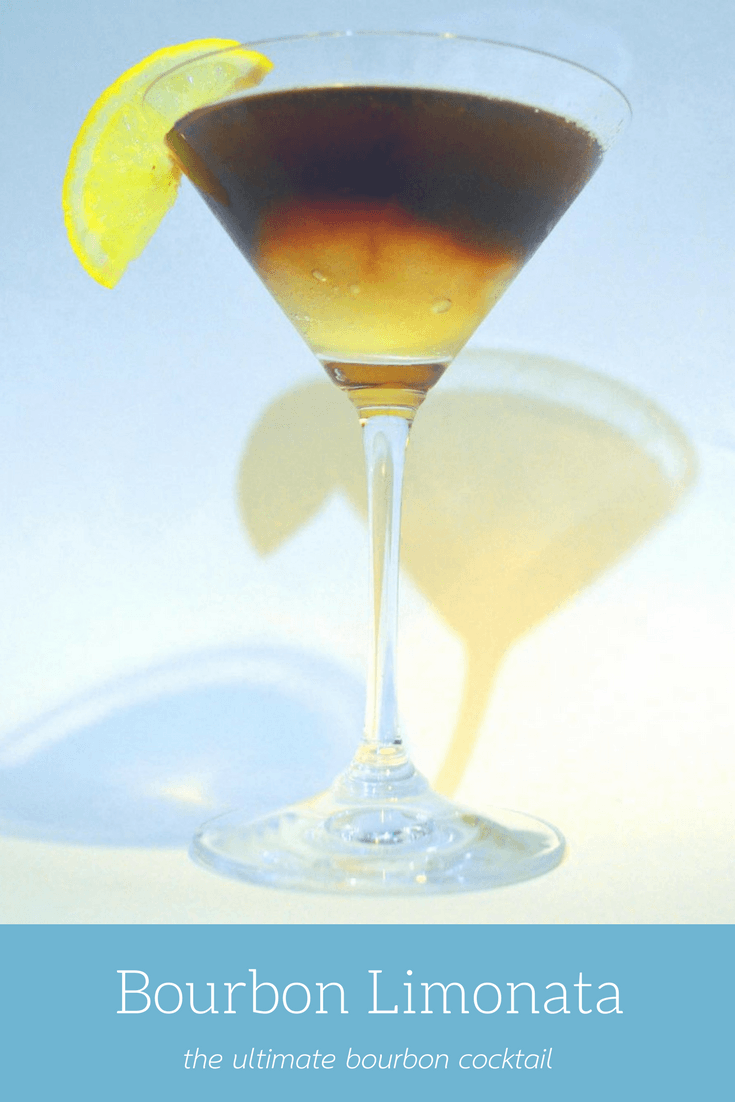 Bourbon Limonata - A creative Bourbon cocktail with layers of flavor