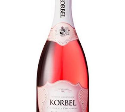 Korbel Sweet Rosé California Champagne