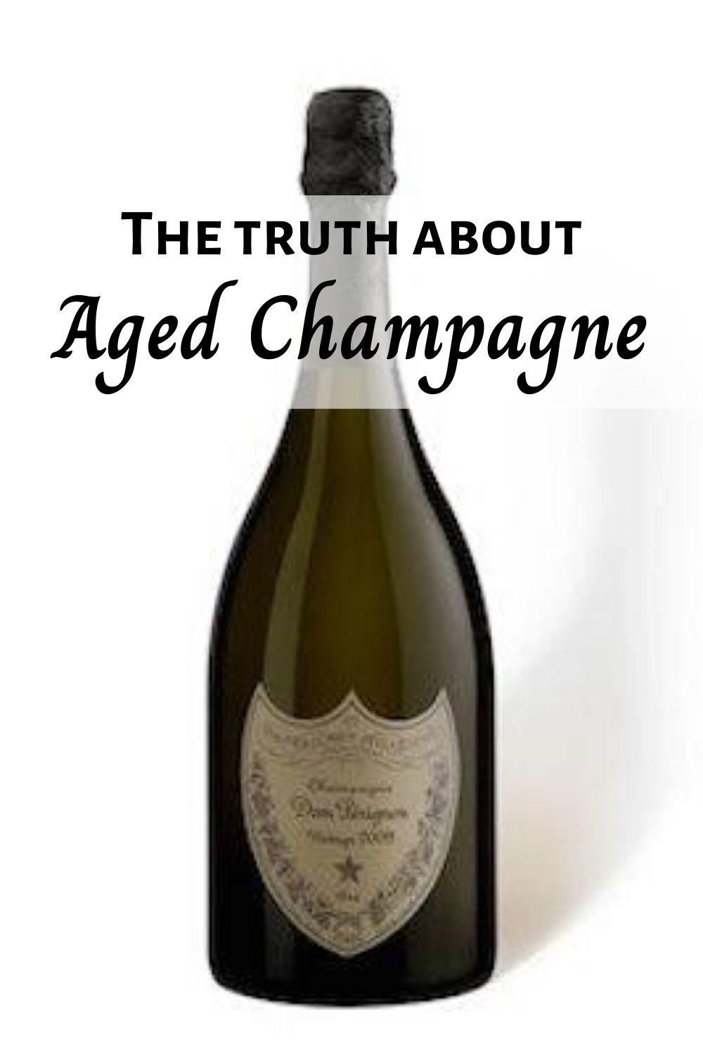Aged Champagne pinnable graphic