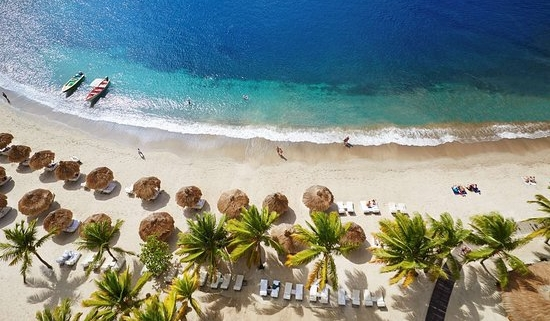 Sugar Beach--the St. Lucia Resort with a Rummelier