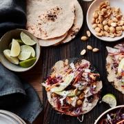 Asian Style Fish Tacos