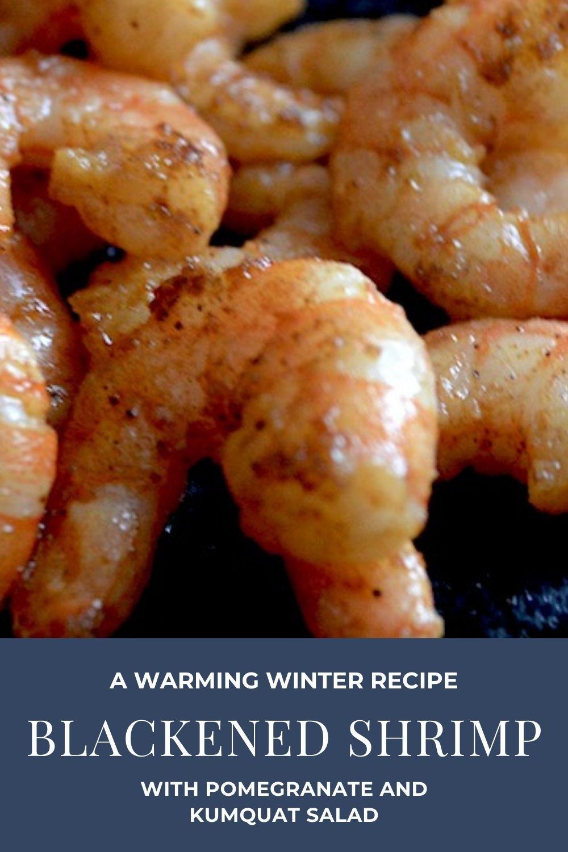 blackened shrimp recipe graphic