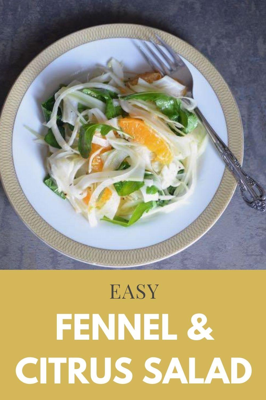 Fennel Citrus Salad Recipe