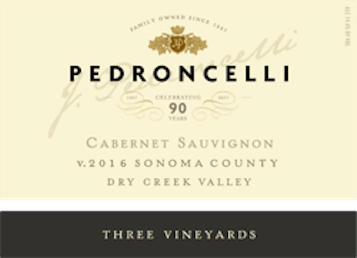 Pedroncelli Dry Creek Valley Cabernet