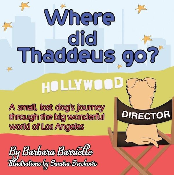 "Gifts that Give Back--The Children's Book ""Where Did Thaddeus Go?"""